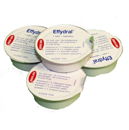 Effydral brustablett vid diarre (Flera förpackningsstorlekar)