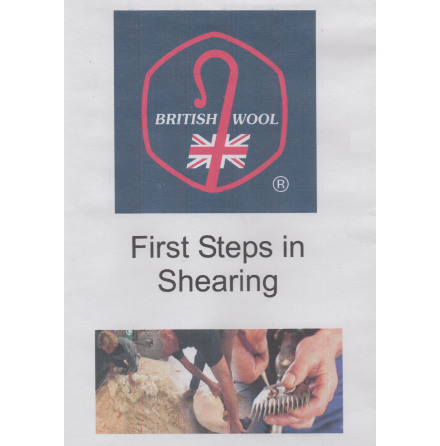 DVD First steps in shearing