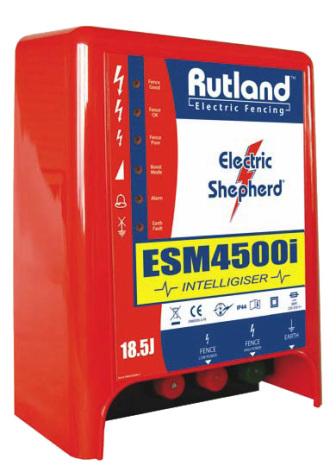 Elstängselaggregat Rutland ESM 4500i - 230 Volt