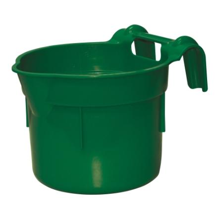 Hink / Fodertråg 8 Liter med grindfäste