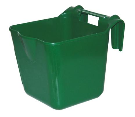 Hink / Fodertråg 13 Liter med grindfäste