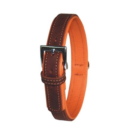 Halsband Vegas 32-38 cm Brun