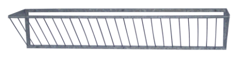 Höhäck Väggmonterad 1,85 m Kerbl