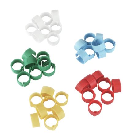 Hönsring Clips 5 färger