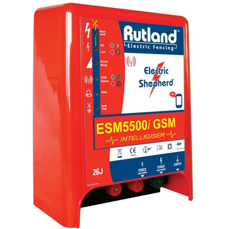 Elaggregat Rutland ESM 5500i GSM - 230 Volt