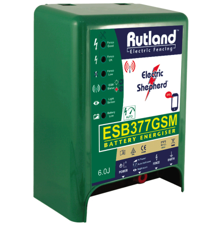 Elaggregat Rutland ESB 377 GSM - 12 Volt Batteri