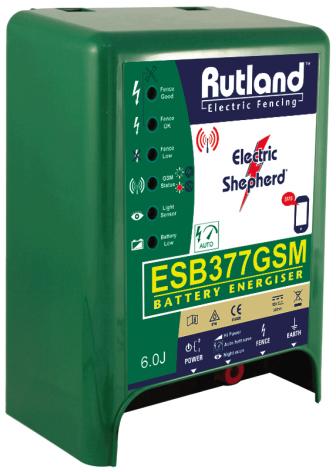 Elaggregat Rutland ESB 377 GSM - 12 Volt Batteri *