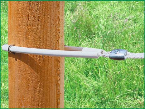 Hörnrör för elrep 60 cm 10-pack