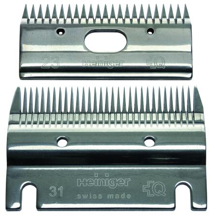 Heiniger 31/23 Nöt/hästskär Klipphöjd 2-4 mm