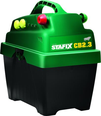 Elstängselaggregat Stafix CB2.3 - 12 Volt Batteri