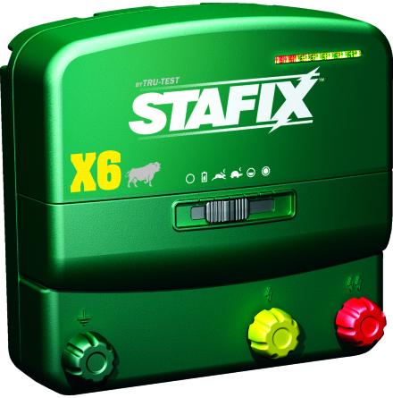 Elstängsel aggregat Stafix X6 - 12/230 Volt