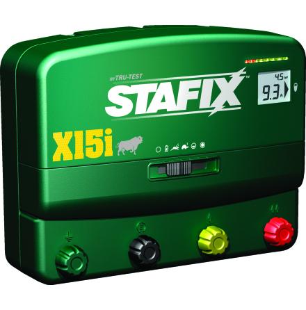 Elstängsel aggregat Stafix X15i - 12/230 Volt