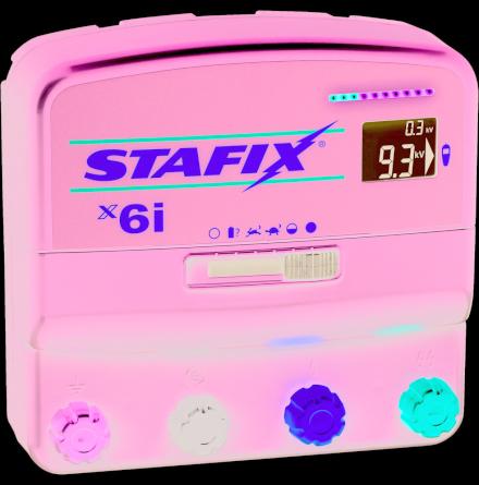 Elstängselaggregat Stafix X6i - 12/230 Volt