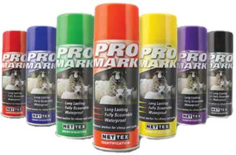 Märkspray ProMark - Röd 400 ml