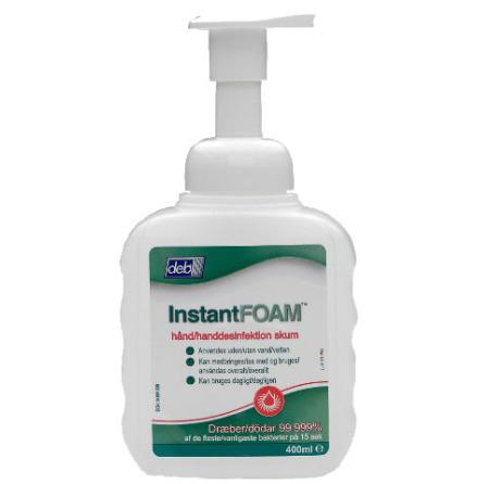Handdesinfektion InstantFOAM Pumpflaska 400 ml