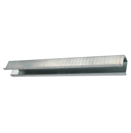 Skyddsplåt för vattenledning 750 x 60 x 75 mm