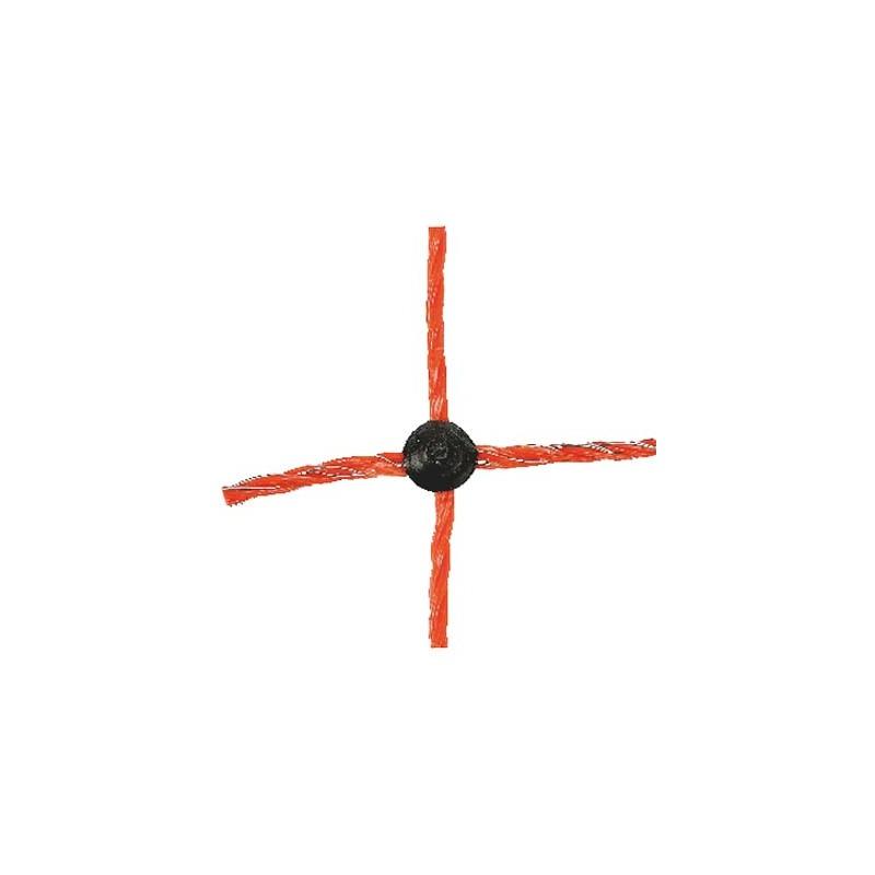 Fårelnät Standard 90 cm Orange Enkelspets 50 Meter