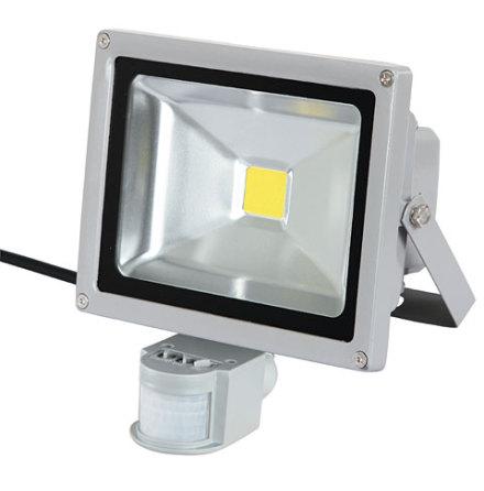 Gårdsarmatur Rörelsevakt LED 50 Watt 4000 Lumen