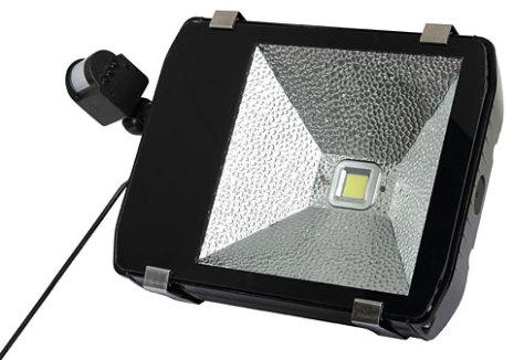 Gårdsarmatur Rörelsevakt LED 80 Watt 7200 Lumen