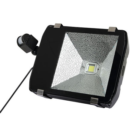 Gårdsarmatur Rörelsevakt LED 100 Watt 9000 Lumen