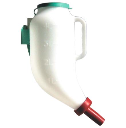 Nappflaska Torrfoder för kalv 4 Liter