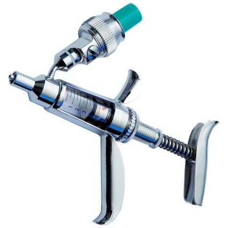 Injektionspistol HSW Ferro-Matic 5 ml med flaskanslutning
