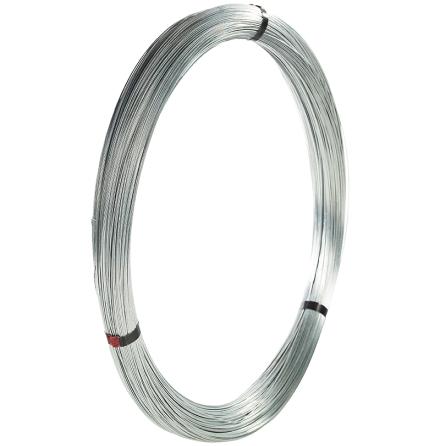 Järntråd Normalförzinkad 2,5 mm 25 kg (5 x 5 kg) 400-550 N/mm2