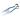 Handsax Dubbelbåge Burgon&Ball 32 cm Bladlängd 14 cm