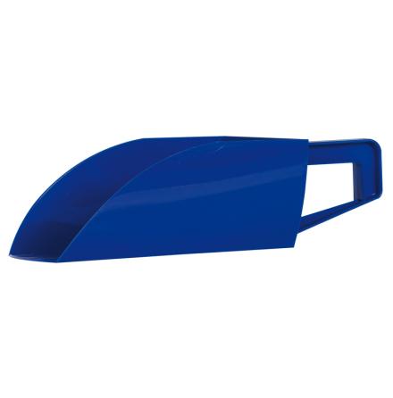 Foderskopa Plast 1,5 kg - Blå