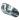 Foderskopa Aluminium 1 Kg - Inverterat handtag