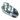 Foderskopa Aluminium 2 Kg - Inverterat handtag