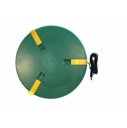 Värmeplatta för vattenautomat 12 Watt - 20 cm