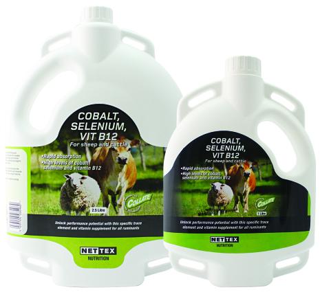 Utgått Kobolt/selen/B12 Drench 2,5 Liter