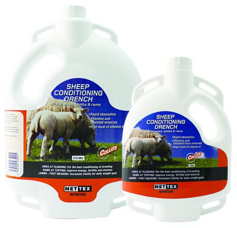 Utgått Sheep Condition Drench 2,5 lit med koppar