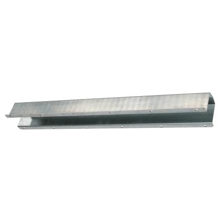 Skyddsplåt för vattenledning 1000 x 100 x 80 mm