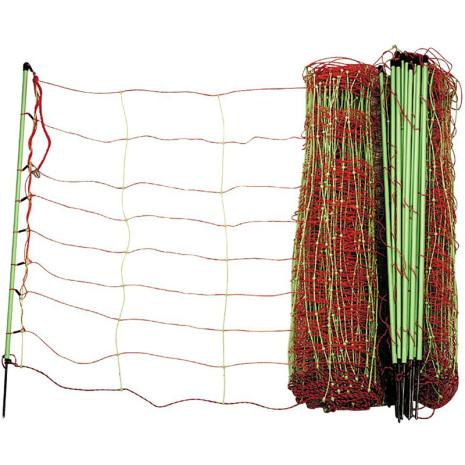 Fårelnät Kombi 90 cm Enkelspets 50 Meter