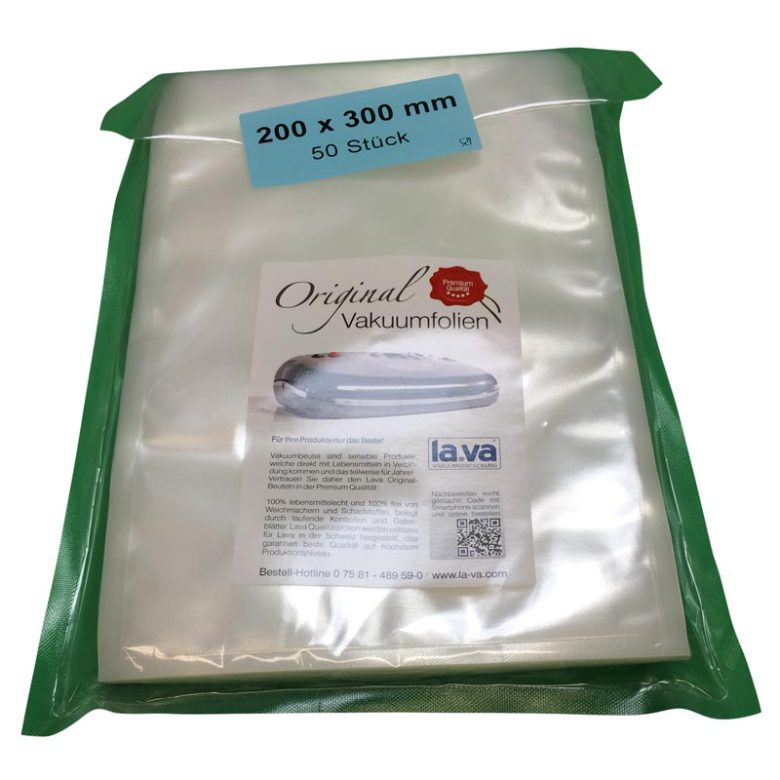 Nya Köp Påsar till vakuumförpackare La-Va 20 x 30 cm 50-pack här SB-01