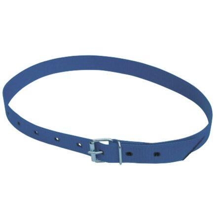 Transponderhalsrem - Blå med livremsspänne 120 cm