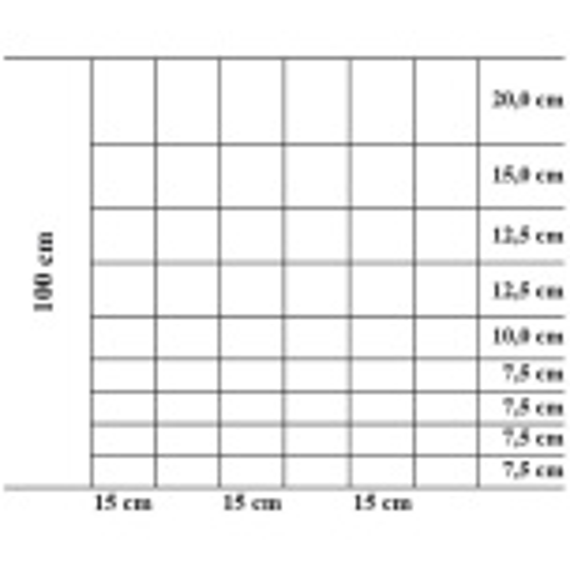 Fårnät Tornado Torus 100/10/15 - 100 meter R10/100/15