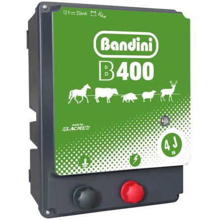 Elstängselaggregat Bandini B400 - 12 Volt Batteri