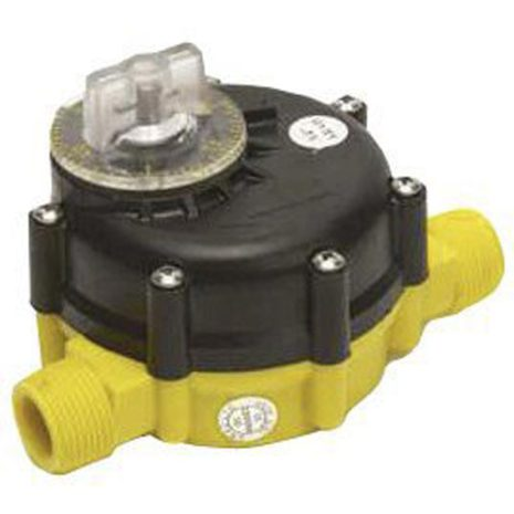 Vattenmätare / Vattentimer 0 - 2.000 liter