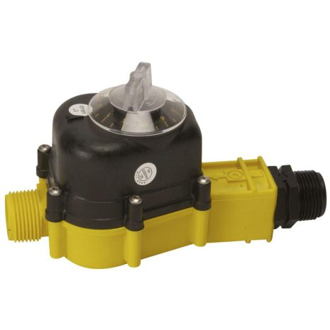Vattenmätare / Vattentimer 0 - 10.000 liter