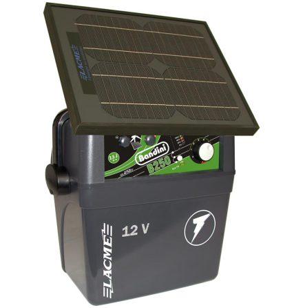 Elstängselaggregat Bandini B250 SUN - 12 Volt Batteri