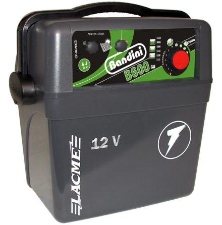 Elstängselaggregat Bandini B600 - 12 Volt Batteri