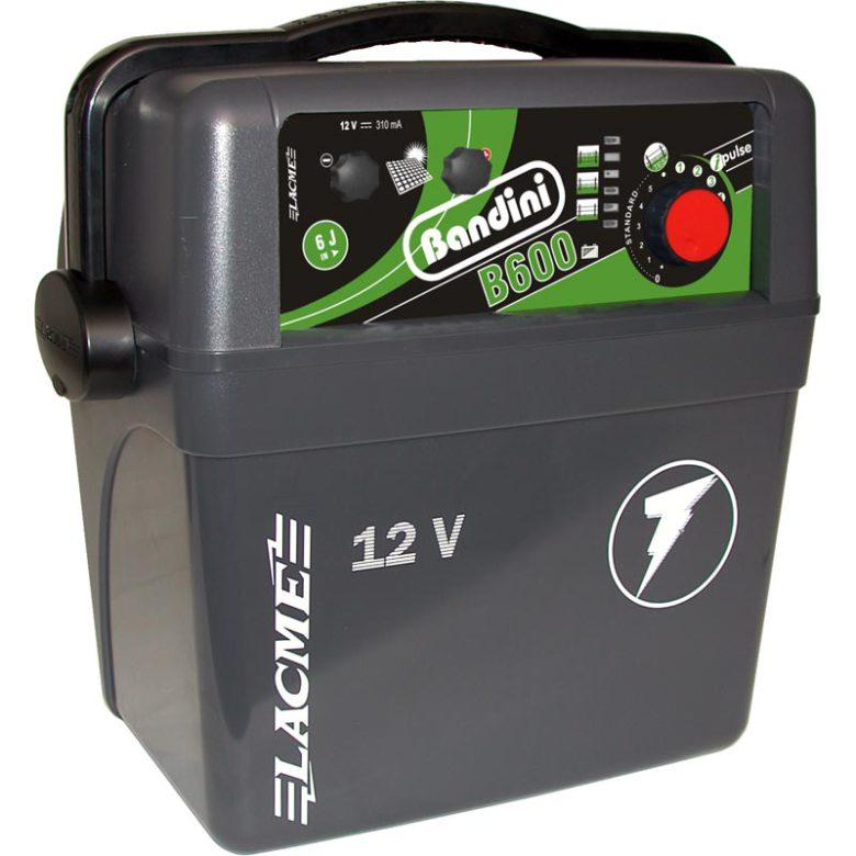 Köp Elstängselaggregat Bandini B600 - 12 Volt Batteri här. - lgprodukter.se