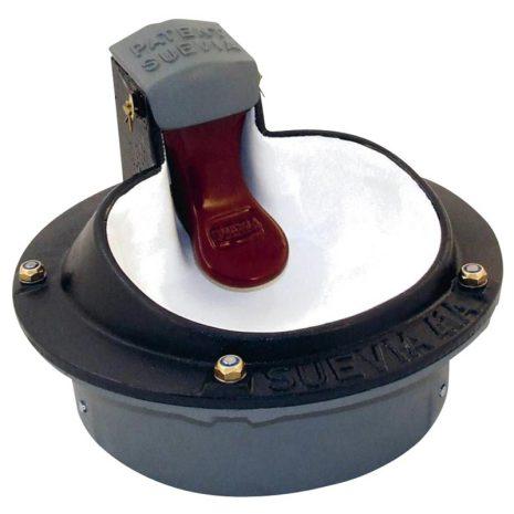 Elvattenkopp Suevia 41A 80 Watt - Tungventil