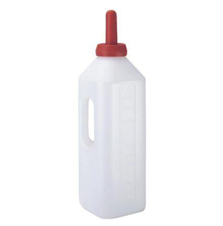 Kalvnappflaska 3 Liter, fyrkantig med handtag