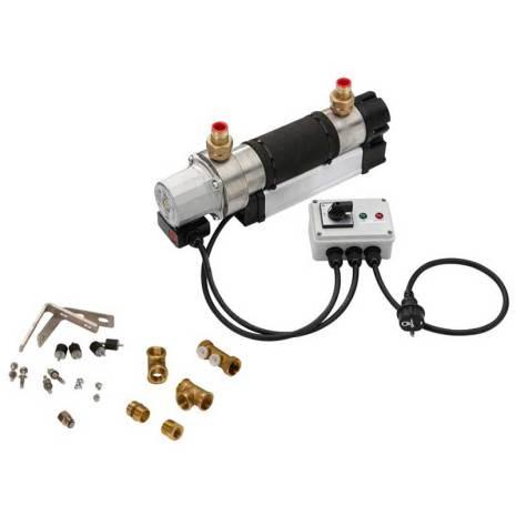 Aqualine cirkulerande varmvattensystem 230 Volt 3000 Watt Med kontrollbox
