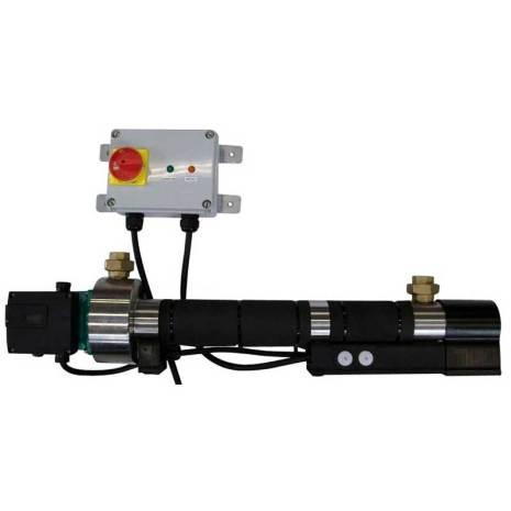 Aqualine cirkulerande varmvattensystem 400 Volt 6000 Watt Med kontrollbox
