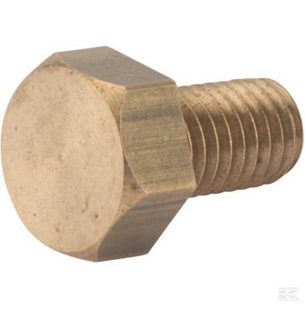 Mässingsbult M8 x 20 mm